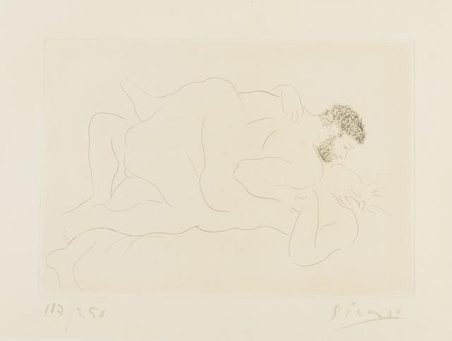 Pablo Picasso, 'Homme et Femme (Bloch 77)', 1927, Print, Etching, Forum Auctions