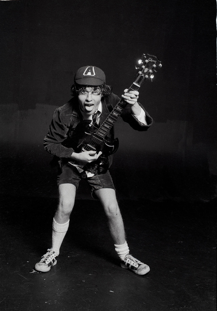 Michael Putland, 'Angus Young of AC/DC, London, 1976', 1976, ElliottHalls
