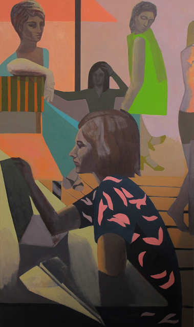 , 'Correspondences,' 2017, Nancy Margolis Gallery