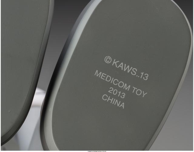 KAWS, 'Companion (Passing Through)', 2013, Sculpture, Vinyl, Heritage Auctions