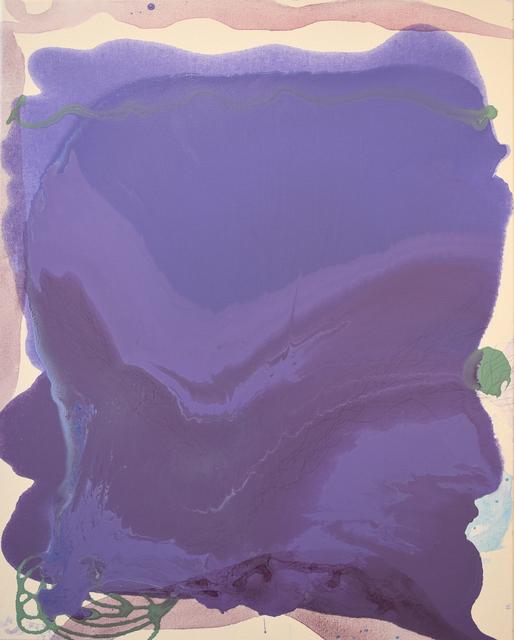 , 'Purple Aura,' 2017, Carter Burden Gallery