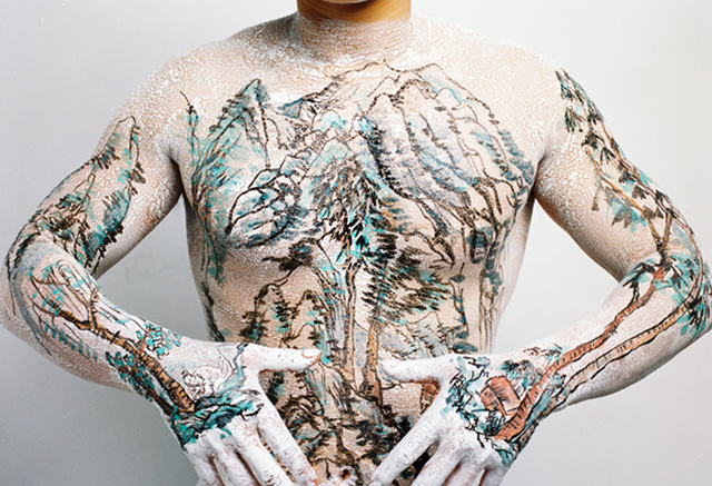Huang Yan, 'Chinese Shan-Shui Tattoo 6', 1999, Ethan Cohen New York