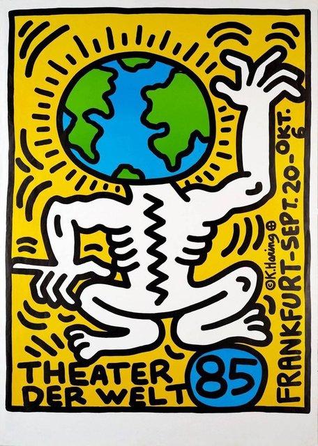 , 'THEATER DER WELT FRANKFURT ,' 1985, Galleria Alfieri