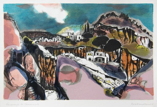 , 'Landschaft bei Casamicciola,' Late 1950's, GALLERY 1/1