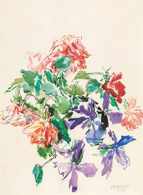 , 'Bouquet of Flowers,' 1970, Galerie Bei Der Albertina Zetter