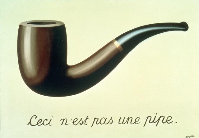 , 'La Trahison des images (Ceci n'est pas une pipe),' 1929, Centre Pompidou