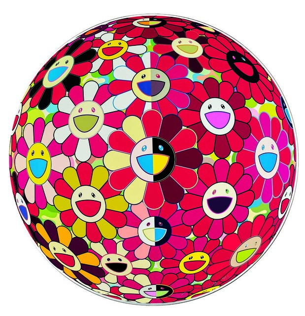 , 'Flowerball Red (3D) The Magic Flute,' 2009, Martin Lawrence Galleries