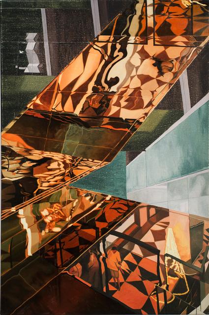 , 'Concertinaed,' 2018, Sutton Gallery