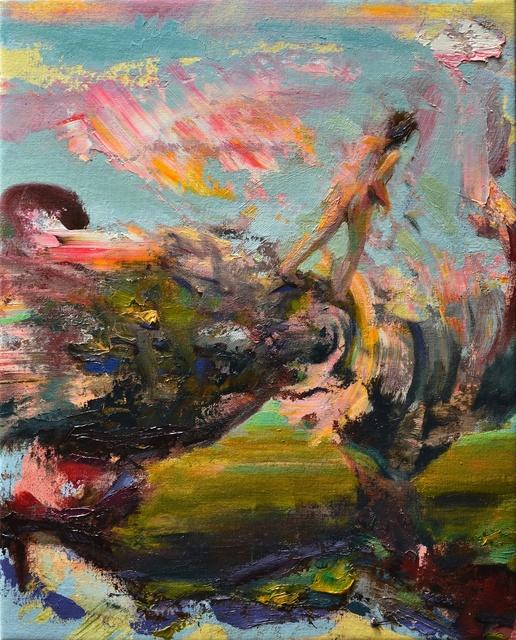 , 'Walking On The Twisting Earth,' 2017, AWOL