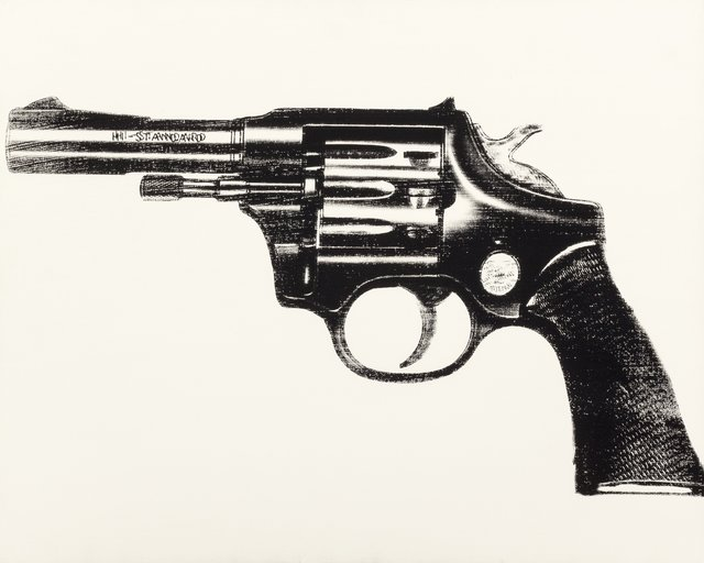 Andy Warhol, 'Gun', 1981-1982, Painting, Acrylic and silkscreen on canvas, Heritage Auctions