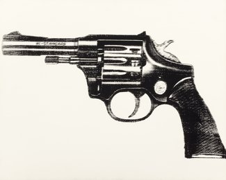 Andy Warhol, 'Gun,' 1981-82, Heritage Auctions: Modern & Contemporary Art