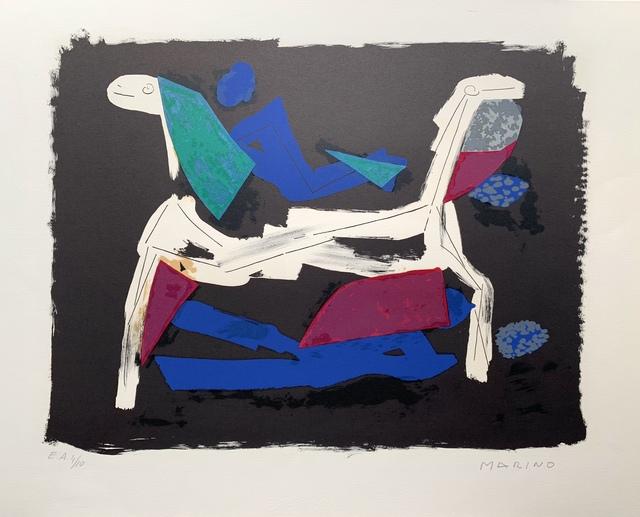 Marino Marini, 'Marino Marini- Chevaux et cavaliers I ', 1972, Van der Vorst- Art