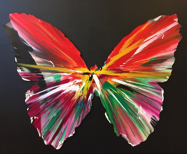 Damien Hirst, 'Untitled (Butterfly)', 2009, The Missing Plinth