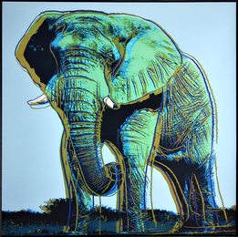 Elephant for Art Basel 1987