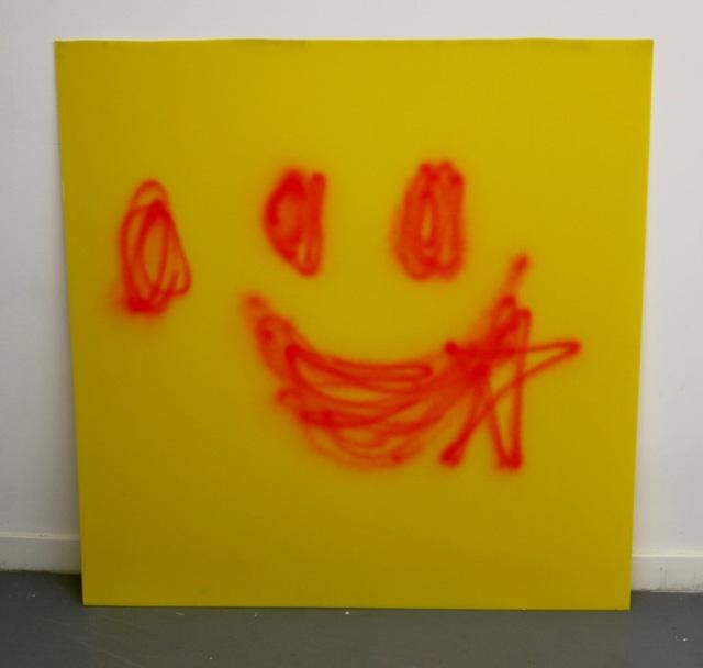 , 'UNTITLED DROOL WINK!!  4' x 4' ,' 2016, Robert Kananaj Gallery