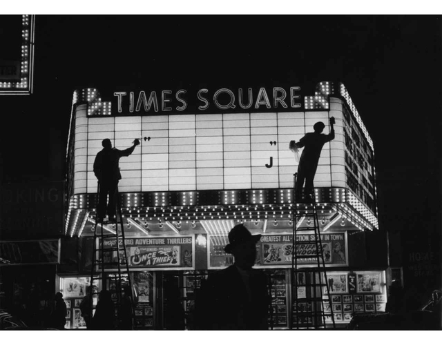 , 'Times Square, New York,' 1955, Peter Fetterman Gallery