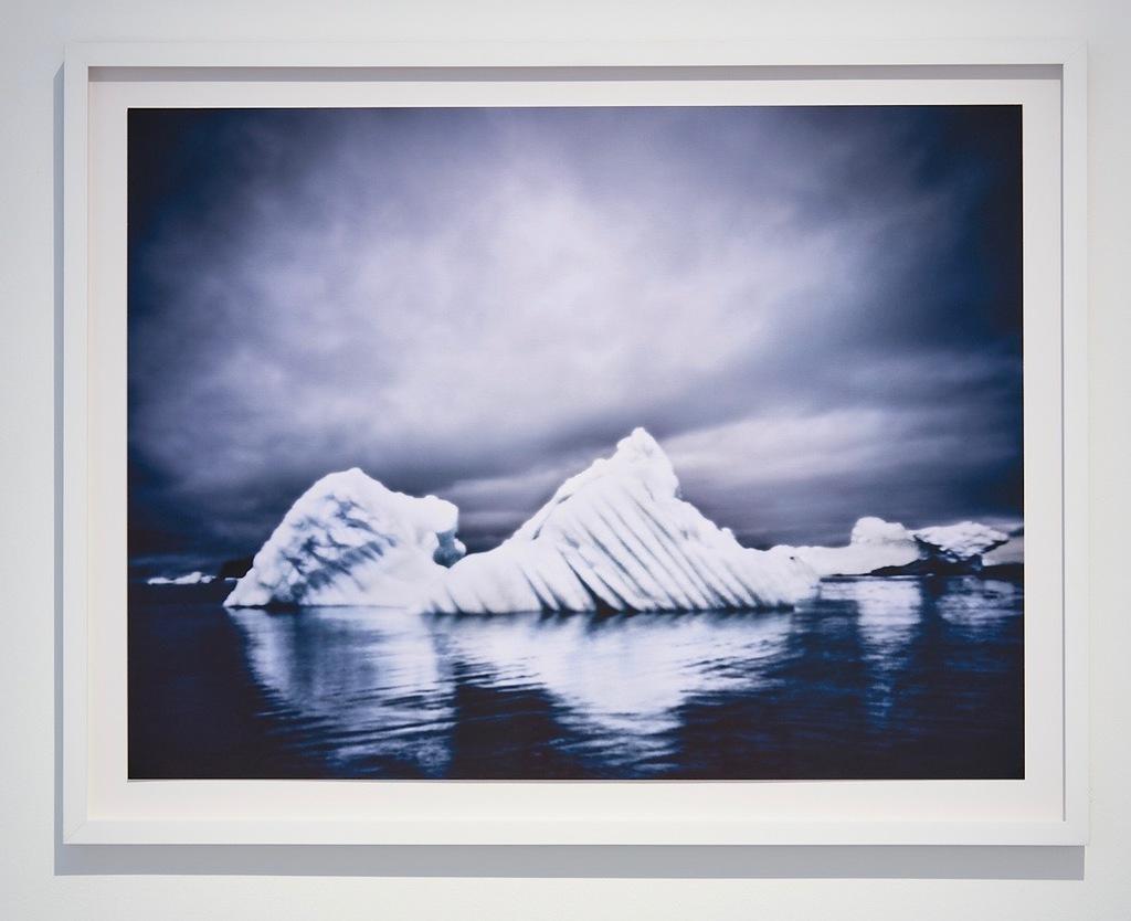 "Osceola Refetoff's ""Shifting Seas"" taken with a Pinhole camera  at Von Lintel Gallery"