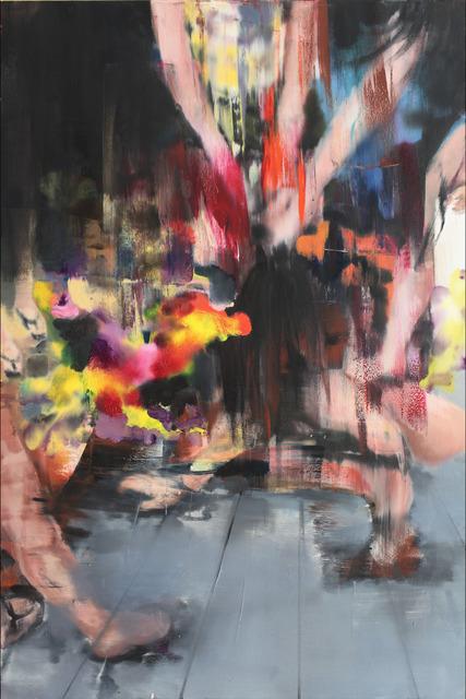 Li Tianbing, 'On the Ground', 2018, Painting, Oil on Canvas, JD Malat Gallery