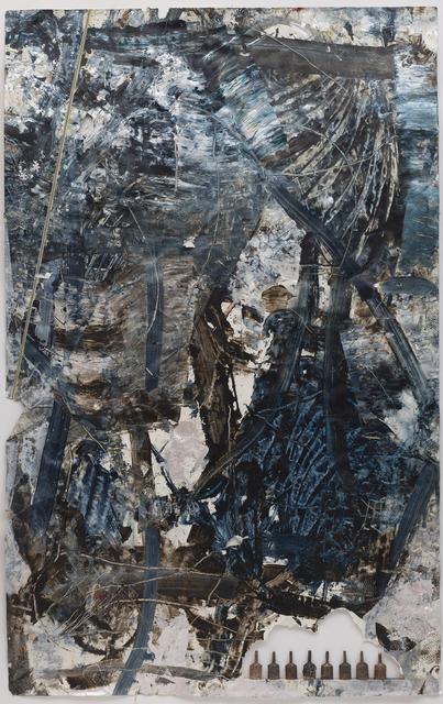 , 'Black and Blue Cologne,' 2014, Anthony Meier Fine Arts