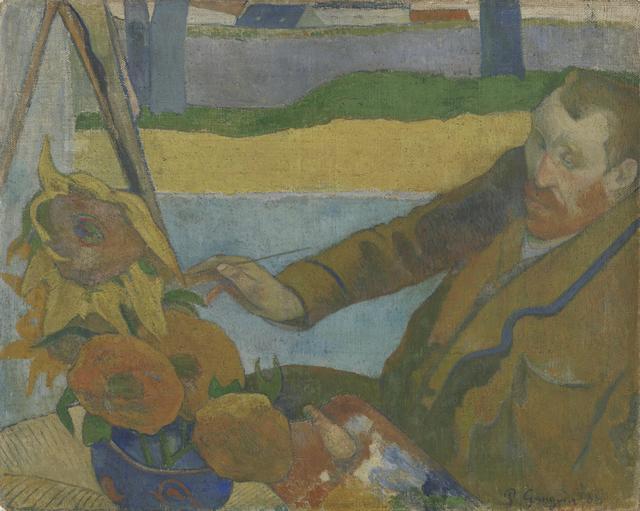 Paul Gauguin, 'Vincent van Gogh Painting Sunflowers', 1888, Van Gogh Museum