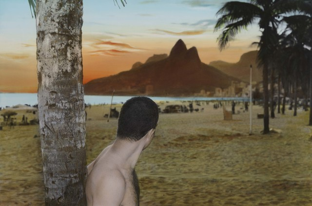Youssef Nabil, 'Self portrait sunset, Rio de Janeiro', 2005, Repetto Gallery