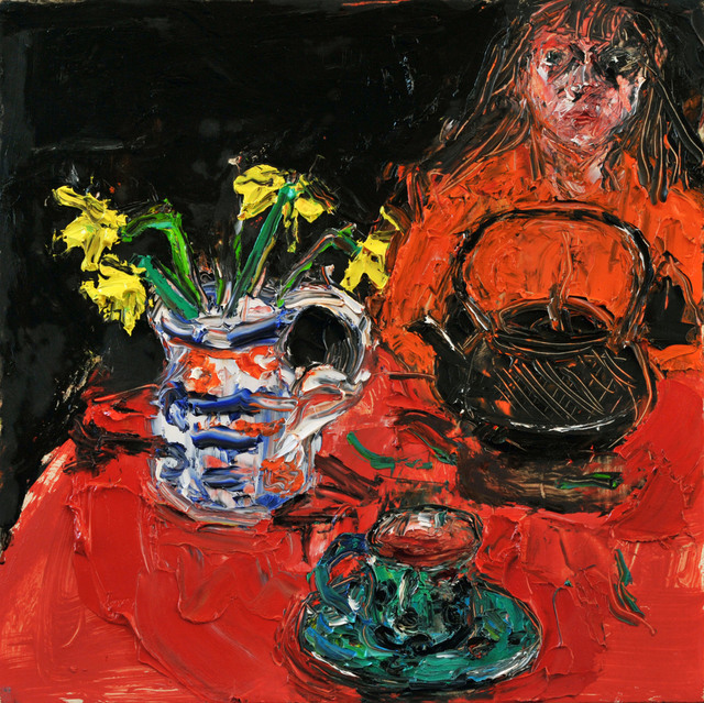 , 'Turquoise cup and saucer,' 2018, Connaught Brown
