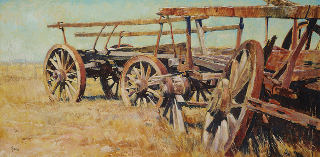 , 'Wheels of the Wimmera,' 1971, Charles Nodrum Gallery