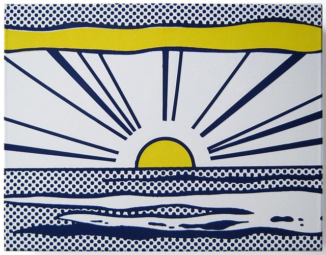 Roy Lichtenstein, 'Sunrise', 1965, Joseph K. Levene Fine Art, Ltd.