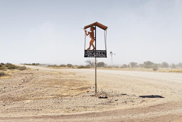 Margaret Courtney-Clarke, 'Boumtal farm entrance Witpan, D614 Kalahari, Namibia', 2019, SMAC