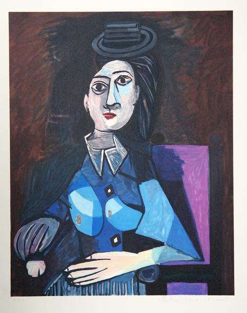 Pablo Picasso, 'Femme au Petit Chapeau Rond, 1942', 1979-1982, RoGallery