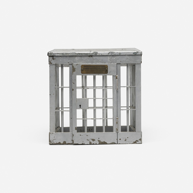 'Jail cell patent model', 1904, Wright