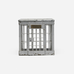 Jail cell patent model