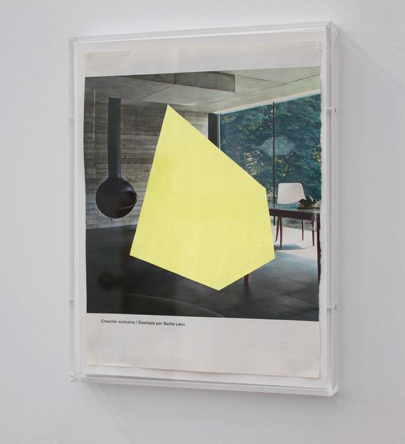 , 'Intrusion over Exclusive creation (N°2),' 2013, Josée Bienvenu