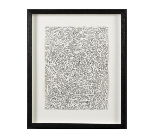 , 'Bone Zone #1,' 2013, Hieronymus
