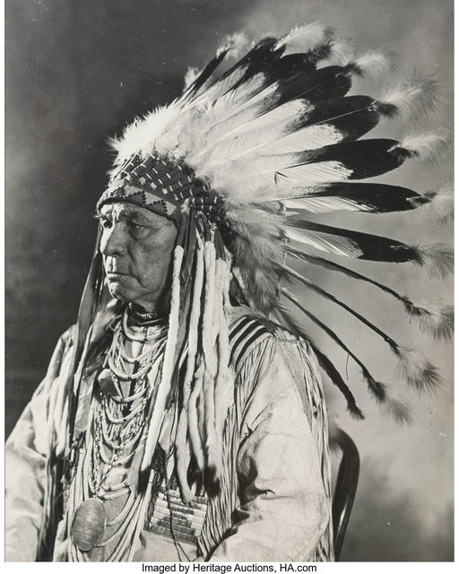 Unknown American, 'Indian Chief', 20th Century, Heritage Auctions