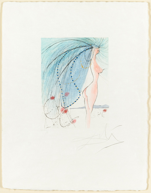 Salvador Dalí, 'Diane de Poitiers', 1971, Christopher-Clark Fine Art