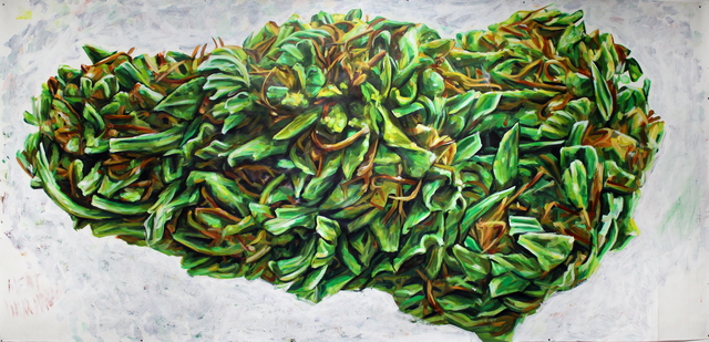 , 'Weed,' 2017, Gallery at Zhou B Art Center