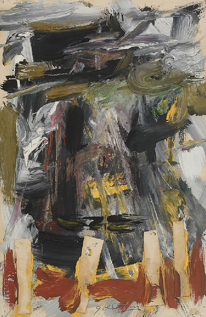 , 'Abstract Composition,' 1958-1959, Hollis Taggart