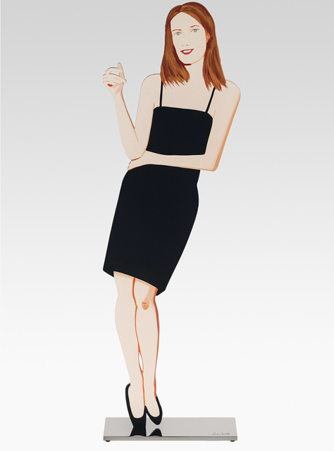 Alex Katz, 'Black Dress (Sharon)', 2018, Der-Horng Art Gallery