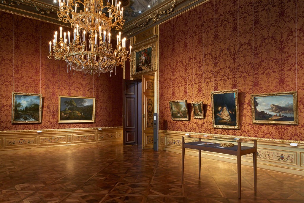 "Exhibition view ""Rembrandt - Titian - Bellotto"" Photo: Eva Würdinger, © Belvedere, Vienna"
