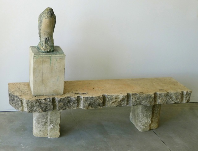 , 'Egyptian Falcon on Bench,' , Gail Severn Gallery