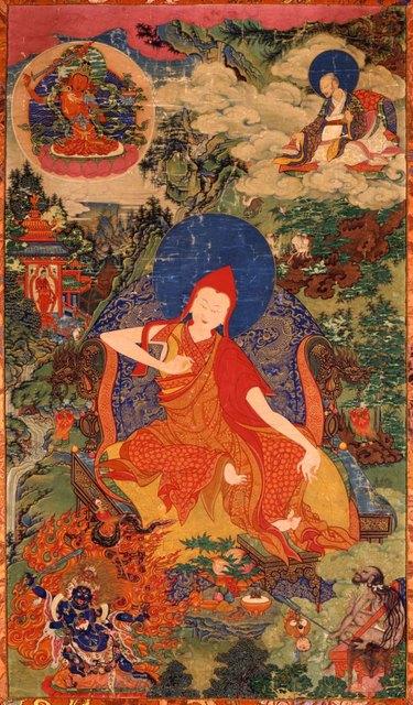 , 'Sakya Pandita, Kunga Gyaltsen (1235-1280) Sakya and Gelug Orders,' 18th century, Newark Museum