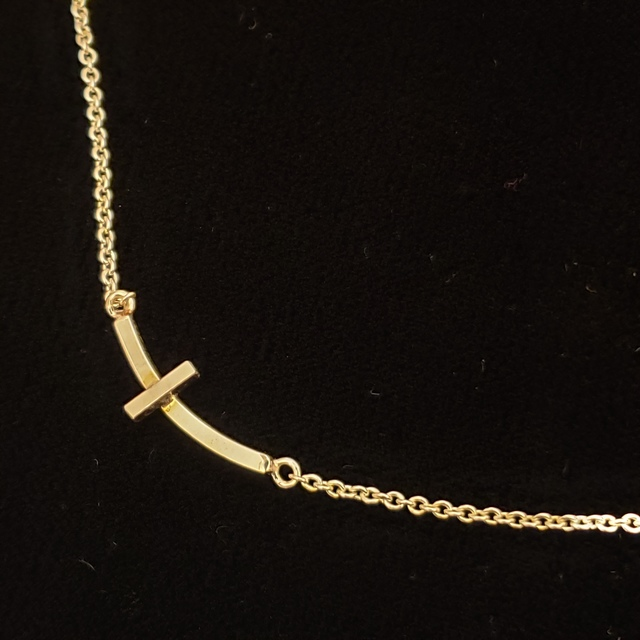 "Meghan Tippy Reese, 'Cross Necklace', ca. 2018, Jewelry, Sterling silver on 19"" snake chain, Springfield Art Association"