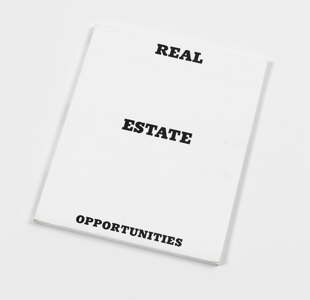 Ed Ruscha, 'Real Estate Opportunities', 1970, Graphicstudio USF