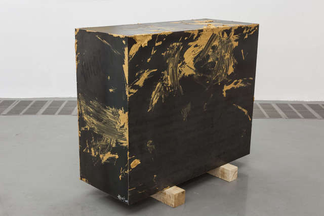, 'Untitled - Iron Case with Gold Paint,' 2014, Boers-Li Gallery