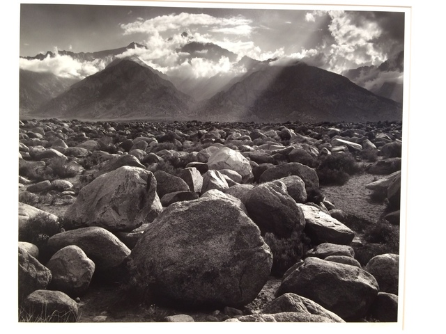 , 'Mount Williamson Sierra Nevada from Manzanar, California,' 1944-printed 1970, Scott Nichols Gallery