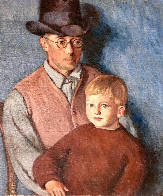 , 'John and Little John,' ca. 1930, Bakker Gallery