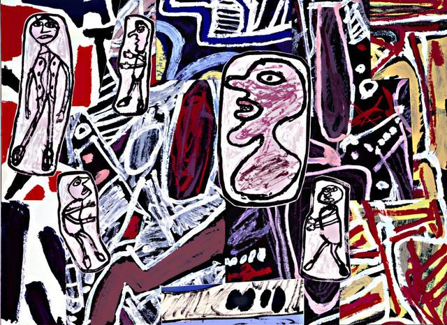 Jean Dubuffet, 'Jean Dubuffet Faits Memorables II', 1978, Late Ninety