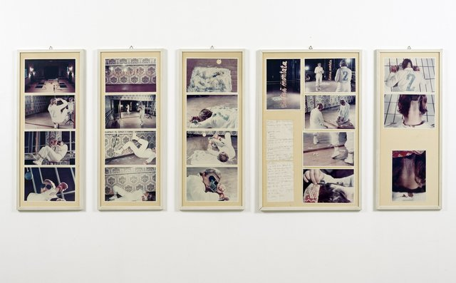 , 'Action II Caso no 2 sul ring [Action The Case n.2 on the ring],' 1976, Richard Saltoun