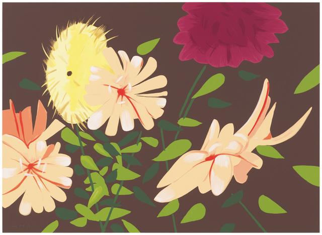 Alex Katz, 'Late Summer Flowers', 2013, Senior & Shopmaker Gallery